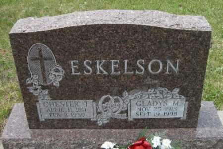 ESKELSON, CHESTER T. - Barnes County, North Dakota   CHESTER T. ESKELSON - North Dakota Gravestone Photos
