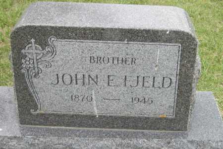 FJELD, JOHN E. - Barnes County, North Dakota | JOHN E. FJELD - North Dakota Gravestone Photos