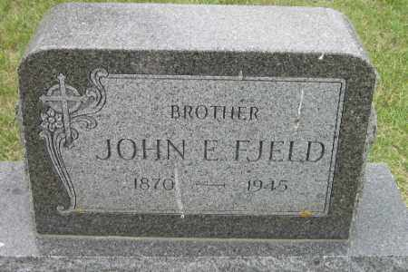FJELD, JOHN E. - Barnes County, North Dakota | JOHN E. FJELD - North Dakota Gravestone Photos