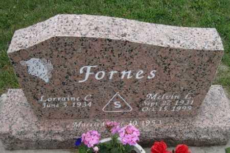 FORNES, MELVIN L. - Barnes County, North Dakota | MELVIN L. FORNES - North Dakota Gravestone Photos