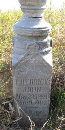 FREDERICK, JOHN - Barnes County, North Dakota | JOHN FREDERICK - North Dakota Gravestone Photos
