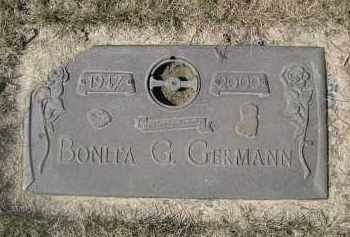 GERMANN, BONITA G. - Barnes County, North Dakota | BONITA G. GERMANN - North Dakota Gravestone Photos