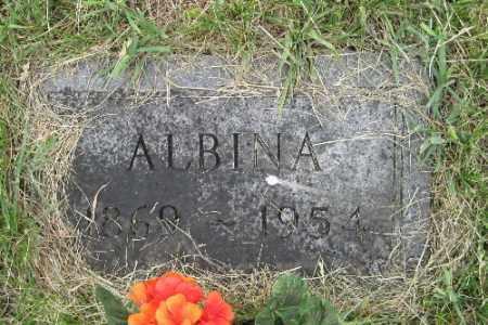 GILBERTSON, ALBINA - Barnes County, North Dakota | ALBINA GILBERTSON - North Dakota Gravestone Photos
