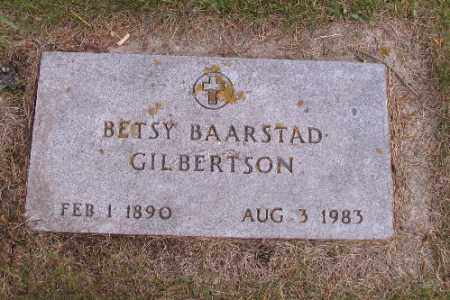 BAARSTAD GILBERTSON, BETSY - Barnes County, North Dakota | BETSY BAARSTAD GILBERTSON - North Dakota Gravestone Photos