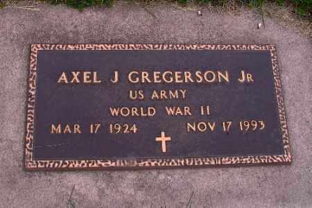 GREGERSON, AXEL J. JR. - Barnes County, North Dakota | AXEL J. JR. GREGERSON - North Dakota Gravestone Photos