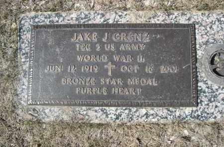 GRENZ, JAKE J. - Barnes County, North Dakota | JAKE J. GRENZ - North Dakota Gravestone Photos