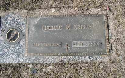 GRENZ, LUCILLE M. - Barnes County, North Dakota | LUCILLE M. GRENZ - North Dakota Gravestone Photos