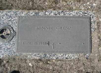 GRENZ, MINNIE - Barnes County, North Dakota | MINNIE GRENZ - North Dakota Gravestone Photos