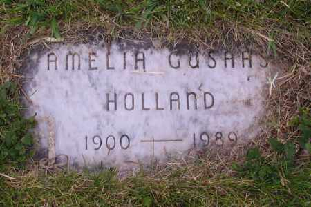 GUSAAS, AMELIA - Barnes County, North Dakota   AMELIA GUSAAS - North Dakota Gravestone Photos