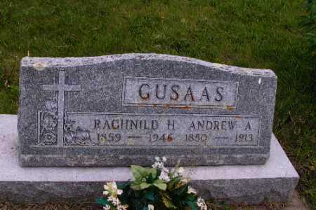 GUSAAS, ANDREW A. - Barnes County, North Dakota | ANDREW A. GUSAAS - North Dakota Gravestone Photos