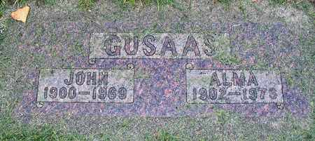 GUSAAS, JOHN - Barnes County, North Dakota | JOHN GUSAAS - North Dakota Gravestone Photos