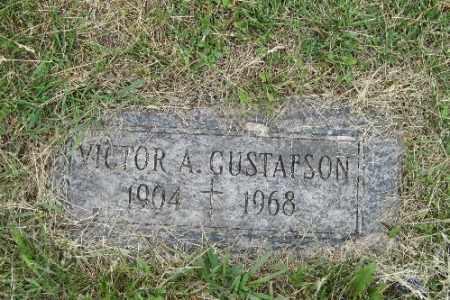 GUSTAFSON, VICTOR A. - Barnes County, North Dakota | VICTOR A. GUSTAFSON - North Dakota Gravestone Photos