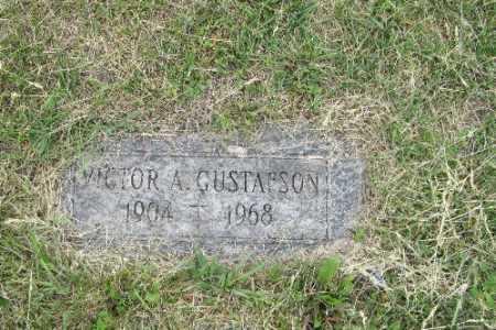 GUSTAFSON, VICTOR A. - Barnes County, North Dakota   VICTOR A. GUSTAFSON - North Dakota Gravestone Photos