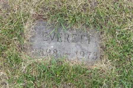 GUSTOFSON, EVERETT - Barnes County, North Dakota | EVERETT GUSTOFSON - North Dakota Gravestone Photos