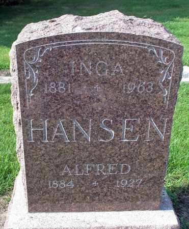 HANSEN, INGA - Barnes County, North Dakota | INGA HANSEN - North Dakota Gravestone Photos