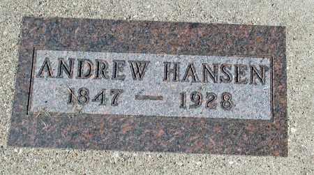 HANSEN, ANDREW - Barnes County, North Dakota | ANDREW HANSEN - North Dakota Gravestone Photos