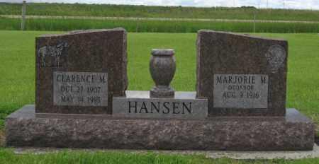 HANSEN, MARJORIE M. - Barnes County, North Dakota   MARJORIE M. HANSEN - North Dakota Gravestone Photos