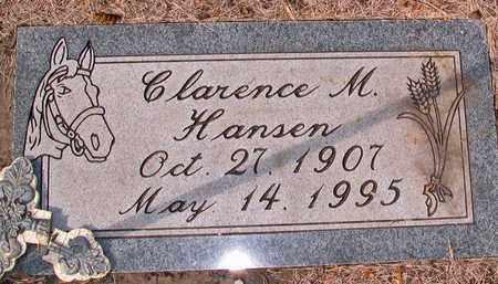HANSEN, CLARENCE M. - Barnes County, North Dakota | CLARENCE M. HANSEN - North Dakota Gravestone Photos