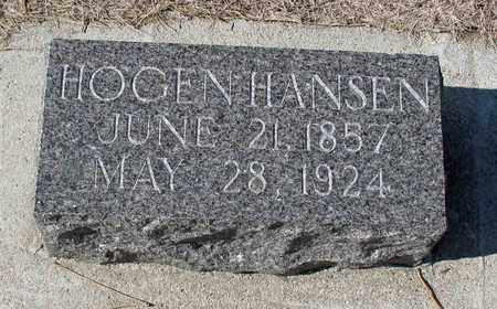 HANSEN, HOGEN - Barnes County, North Dakota | HOGEN HANSEN - North Dakota Gravestone Photos