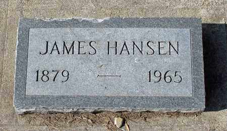HANSEN, JAMES - Barnes County, North Dakota | JAMES HANSEN - North Dakota Gravestone Photos