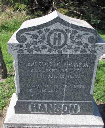 HANSEN, LAWRENCE NELS - Barnes County, North Dakota | LAWRENCE NELS HANSEN - North Dakota Gravestone Photos