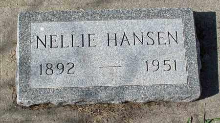 HANSEN, NELLIE - Barnes County, North Dakota | NELLIE HANSEN - North Dakota Gravestone Photos
