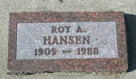 HANSEN, ROY A. - Barnes County, North Dakota | ROY A. HANSEN - North Dakota Gravestone Photos