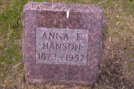HANSON, ANNA E. - Barnes County, North Dakota   ANNA E. HANSON - North Dakota Gravestone Photos