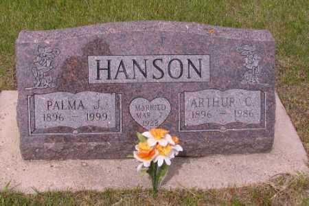 HANSON, PALMA J. - Barnes County, North Dakota   PALMA J. HANSON - North Dakota Gravestone Photos