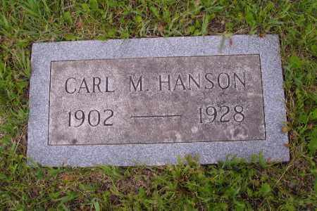 HANSON, CARL M. - Barnes County, North Dakota | CARL M. HANSON - North Dakota Gravestone Photos