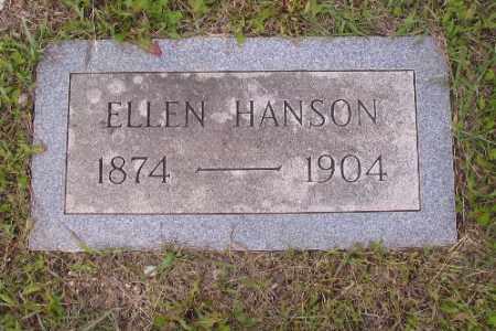 HANSON, ELLEN - Barnes County, North Dakota   ELLEN HANSON - North Dakota Gravestone Photos