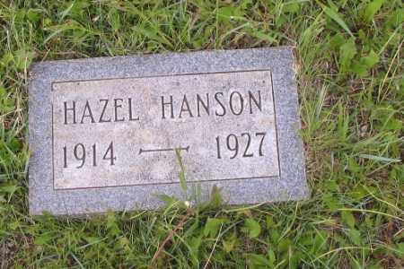 HANSON, HAZEL - Barnes County, North Dakota   HAZEL HANSON - North Dakota Gravestone Photos