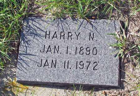 HANSON, HARRY N. - Barnes County, North Dakota   HARRY N. HANSON - North Dakota Gravestone Photos
