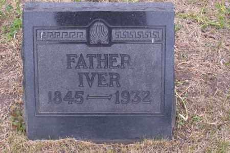HANSON, IVER - Barnes County, North Dakota | IVER HANSON - North Dakota Gravestone Photos