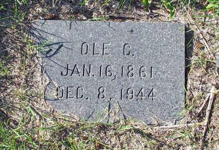 HANSON, OLE C. - Barnes County, North Dakota   OLE C. HANSON - North Dakota Gravestone Photos