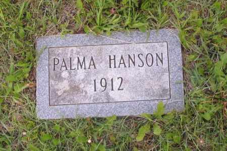 HANSON, PALMA - Barnes County, North Dakota | PALMA HANSON - North Dakota Gravestone Photos