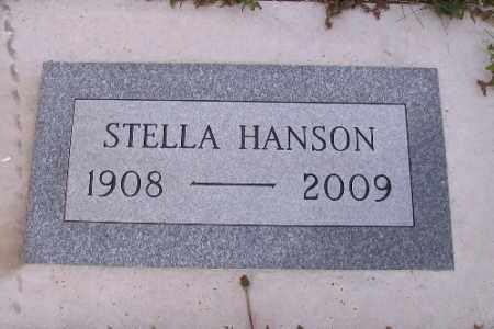 HANSON, STELLA - Barnes County, North Dakota   STELLA HANSON - North Dakota Gravestone Photos
