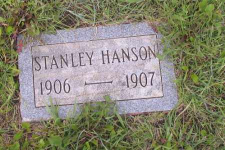 HANSON, STANLEY - Barnes County, North Dakota | STANLEY HANSON - North Dakota Gravestone Photos