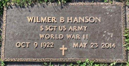 HANSON, WILMER B - Barnes County, North Dakota | WILMER B HANSON - North Dakota Gravestone Photos