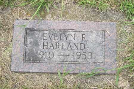 HARLAND, EVELYN R. - Barnes County, North Dakota   EVELYN R. HARLAND - North Dakota Gravestone Photos