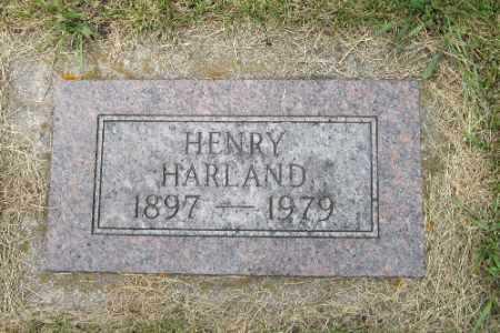 HARLAND, HENRY - Barnes County, North Dakota   HENRY HARLAND - North Dakota Gravestone Photos