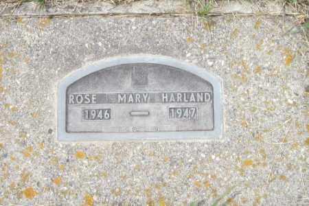 HARLAND, ROSE MARY - Barnes County, North Dakota | ROSE MARY HARLAND - North Dakota Gravestone Photos