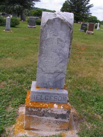 HELGESON, GULLIK - Barnes County, North Dakota   GULLIK HELGESON - North Dakota Gravestone Photos