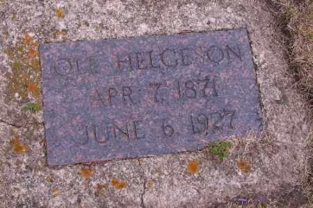 HELGESON, OLE - Barnes County, North Dakota | OLE HELGESON - North Dakota Gravestone Photos
