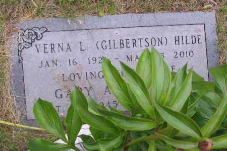 GILBERTSON HILDE, VERNA L. - Barnes County, North Dakota | VERNA L. GILBERTSON HILDE - North Dakota Gravestone Photos