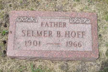 HOFF, SELMER B. - Barnes County, North Dakota | SELMER B. HOFF - North Dakota Gravestone Photos
