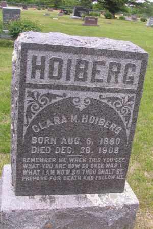 HOIBERG, CLARA M. - Barnes County, North Dakota   CLARA M. HOIBERG - North Dakota Gravestone Photos