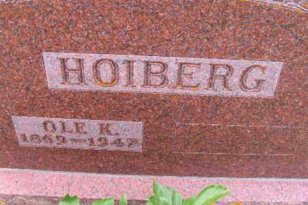 HOIBERG, OLE K. - Barnes County, North Dakota | OLE K. HOIBERG - North Dakota Gravestone Photos