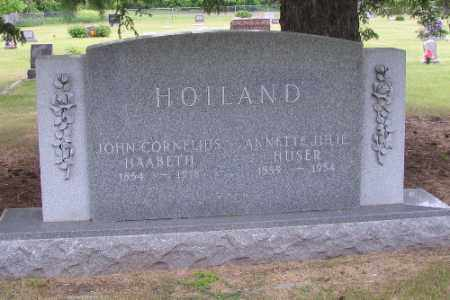 HOILAND, JOHN CORNELIUS HAEBETH - Barnes County, North Dakota | JOHN CORNELIUS HAEBETH HOILAND - North Dakota Gravestone Photos