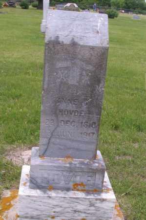 HOVDE, ANNE G. - Barnes County, North Dakota | ANNE G. HOVDE - North Dakota Gravestone Photos
